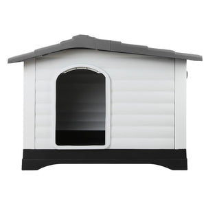 i.Pet Extra Extra Large Pet Kennel - Grey - Factory To Home - Dog kennels