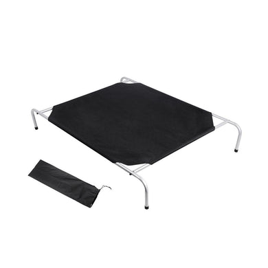 i.Pet Large Canvash Heavy Duty Pet Trampoline - Black - Factory To Home - Pet Care