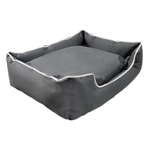 i.Pet Large Washable Pet Bed - Grey - Factory To Home - Pet Care