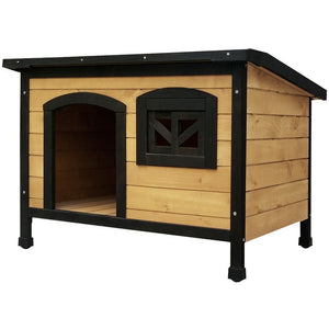 i.Pet Medium Wooden Pet Kennel - Factory To Home - Dog kennels