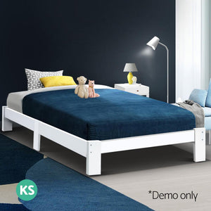 Jade - King Single Size Wooden Bed Frame - Factory To Home - Furniture