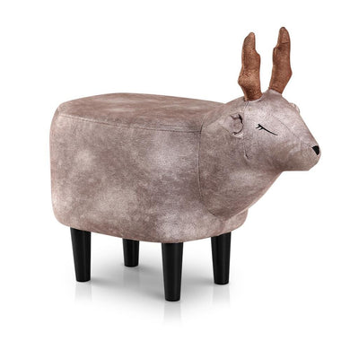 Kids Deer Ottoman stool - Brown - Factory To Home - Baby & Kids