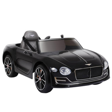 Kids Ride On Car Bentley Licensed EXP12 Electric 12V Black - Factory To Home - Baby & Kids
