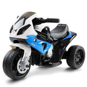 Kids Ride On Motorbike BMW Licensed S1000RR Motorcycle Car Blue - Factory To Home - Baby & Kids