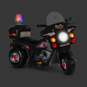 Kids Ride On Motorbike Motorcycle - Black - Factory To Home - Baby & Kids