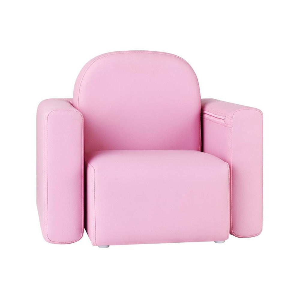 Kids Sofa Recliner Pink - Factory To Home - Baby & Kids