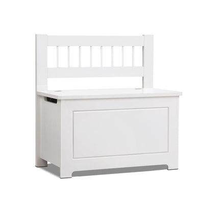 Kids Toy Box Storage Cabinet - White - Factory To Home - Baby & Kids