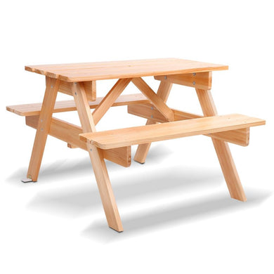Kids Wooden Picnic Bench Set - Factory To Home - Furniture