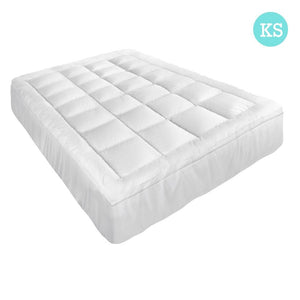 King Single Size Memory Resistant Mattress Topper - Factory To Home - Home & Garden