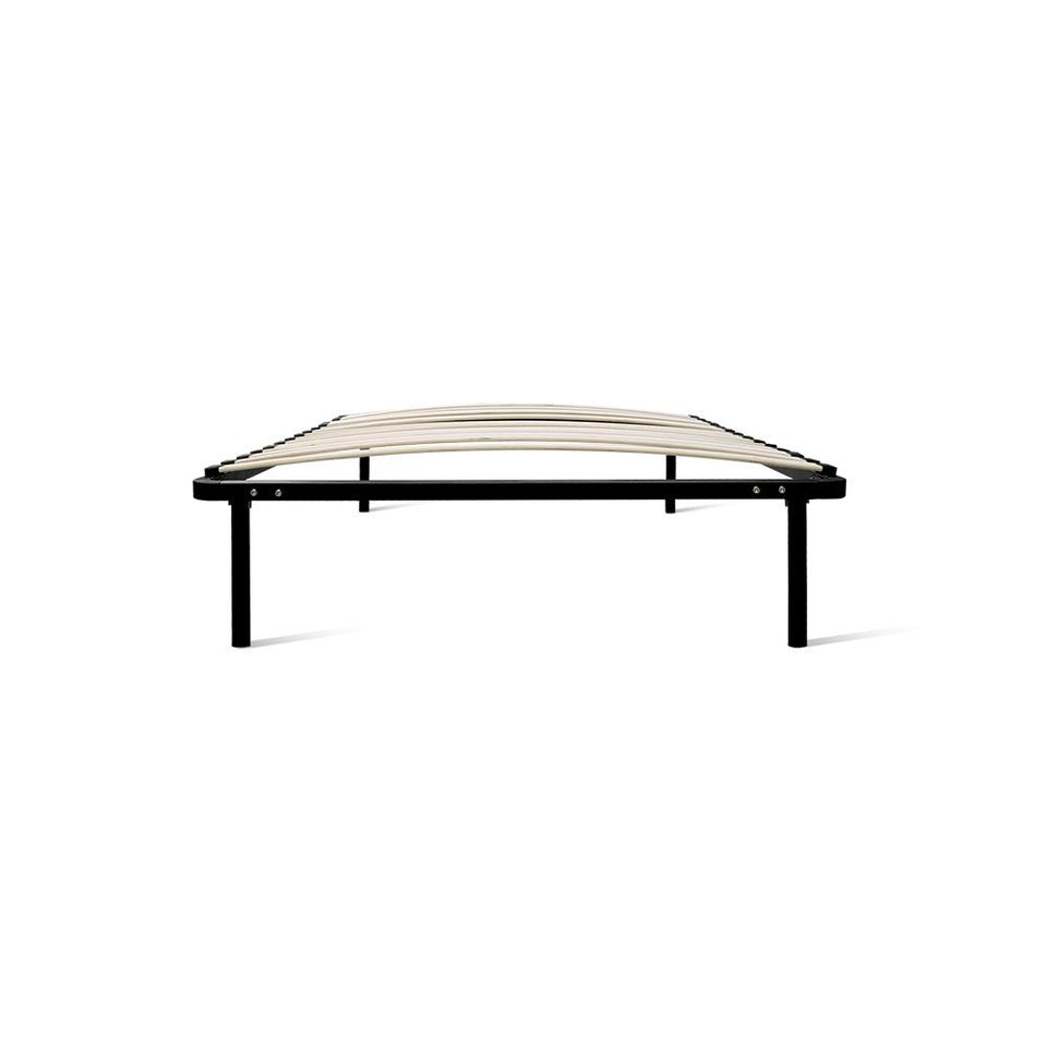 King Single Size Metal Bed Frame - Black - Factory To Home - Furniture