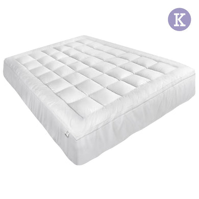 King Size Memory Resistant Mattress Topper - Factory To Home - Home & Garden