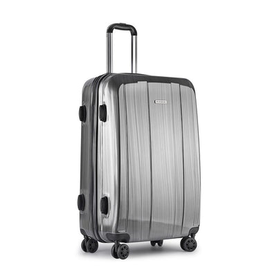 Lightweight Hard Suit Case - Grey - Factory To Home - Home & Garden