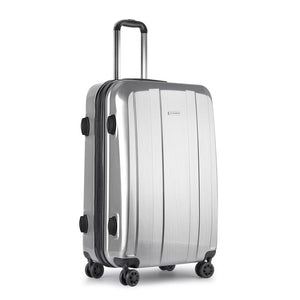 Lightweight Hard Suit Case - Silver - Factory To Home - Home & Garden