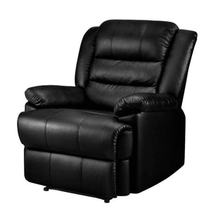 Luxury Recliner Armchair - Black - Factory To Home - Furniture