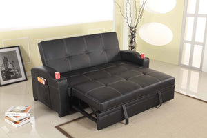 Maple Sofa -Black - Factory To Home - Furniture
