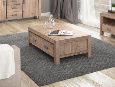 NOWRA 2 Drawer Coffee Table - Factory To Home - Furniture