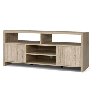 Oak Entertainment Unit - 140cm - Factory To Home - Furniture