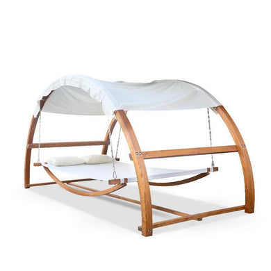 Outdoor Double Hammock Bed with Canopy - Factory To Home - Furniture