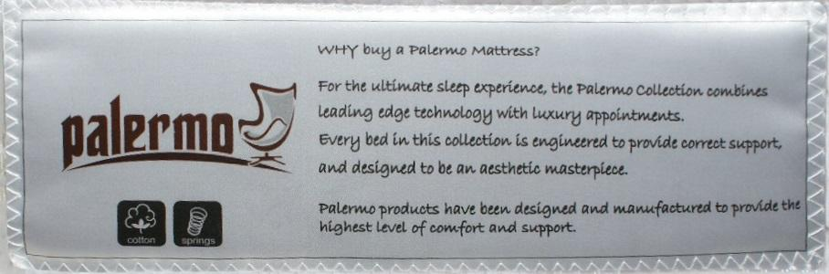 Palermo Single Mattress - Factory To Home - Mattresses
