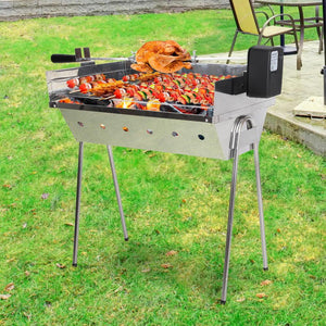 Portable Electric Spit Roaster & Rotisserie - Factory To Home - Home & Garden