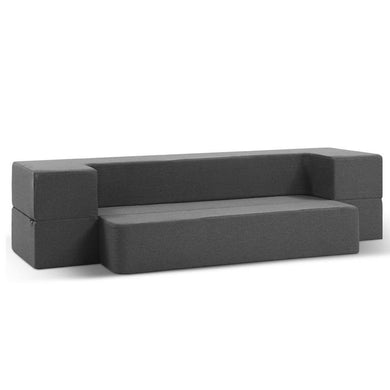 Portable Sofa Bed - Grey - Factory To Home - Furniture