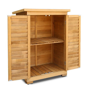 Portable Wooden Garden Storage Cabinet - Factory To Home - Home & Garden