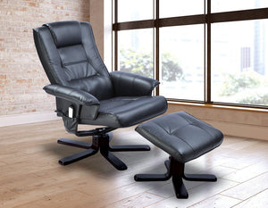 PU Leather Massage Recliner Chair - Factory To Home - Furniture
