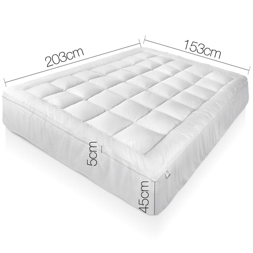 Queen Size Bamboo Matress Topper - Factory To Home - Home & Garden