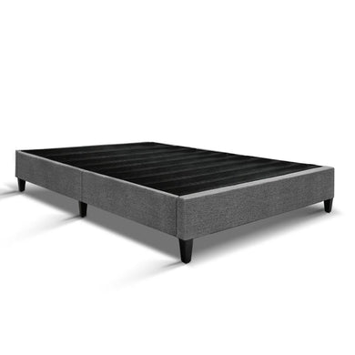 Queen Size Bed Base Frame - Grey - Factory To Home - Furniture
