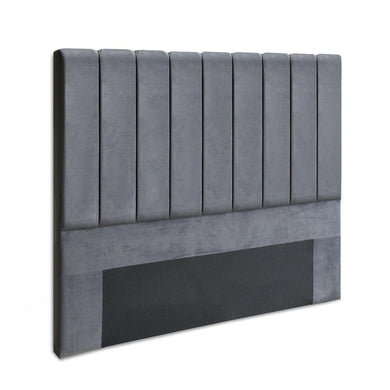 Queen Size Fabric Bed Headboard - Charcoal - Factory To Home - Furniture