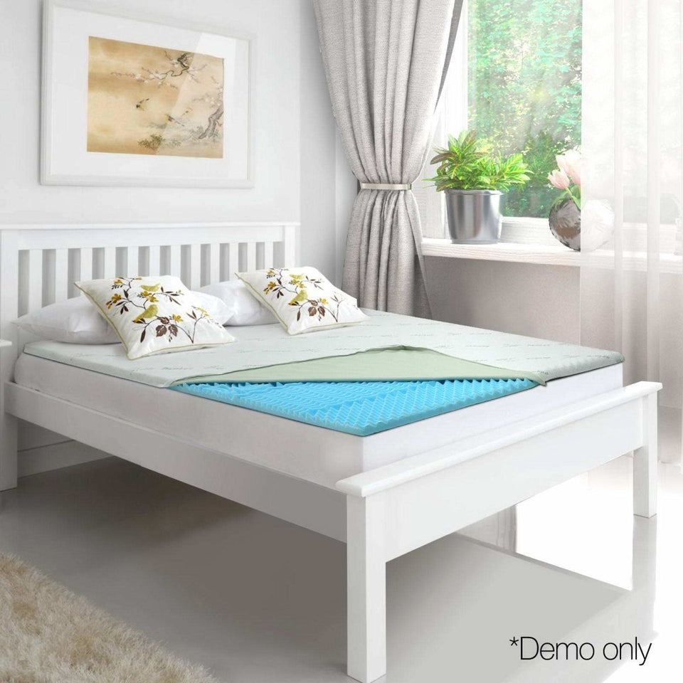 Queen Size Thick Bamboo Mattress Topper - 5cm - Factory To Home - Mattresses