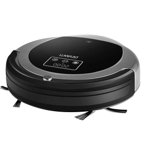 Robotic Vacuum Cleaner - Black & Grey - Factory To Home - Appliances