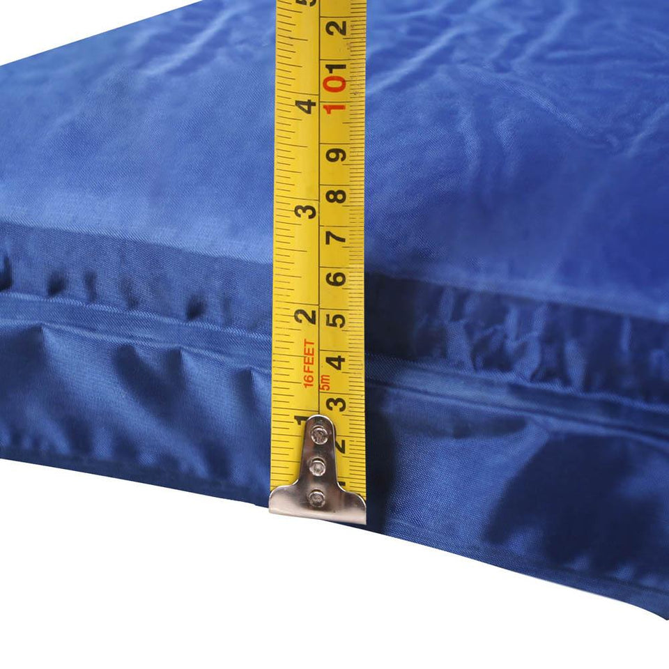 Self Inflating Mattress - Blue - Factory To Home - Outdoor