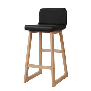 Set of 2 Bolero Bar Stools - Black - Factory To Home - Furniture