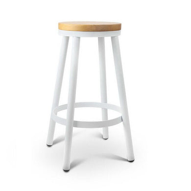 Set of 2 Wooden Stackable Bar Stools - Factory To Home - Furniture