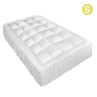 Single Size Memory Resistant Mattress Topper - Factory To Home - Home & Garden