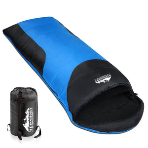 Single Thermal Sleeping Bags - Blue & Black - Factory To Home - Outdoor