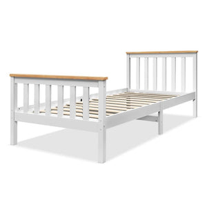 Single Wooden Bed Frame Kids - Factory To Home - Furniture