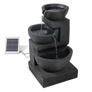 Solar Fountain with LED Lights - Factory To Home - Home & Garden