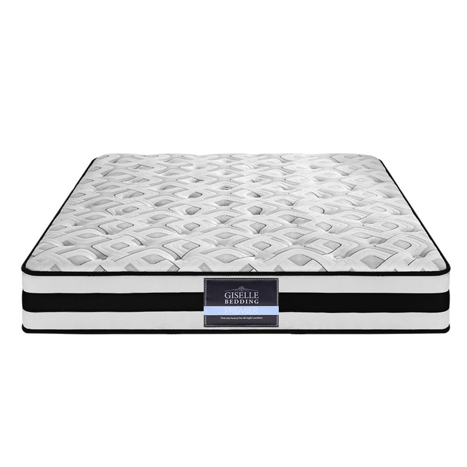 Spring Foam Mattress King Single Size - 24cm - Factory To Home - Furniture