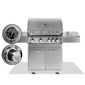 Stainless Steel 5 Burner Gas BBQ - Factory To Home - Home & Garden