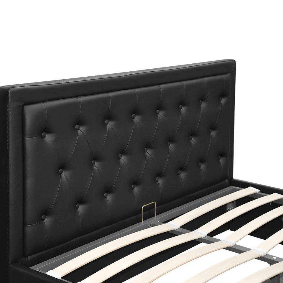 Tiyo Gas Lift Bed Frame - Double - Factory To Home - Furniture