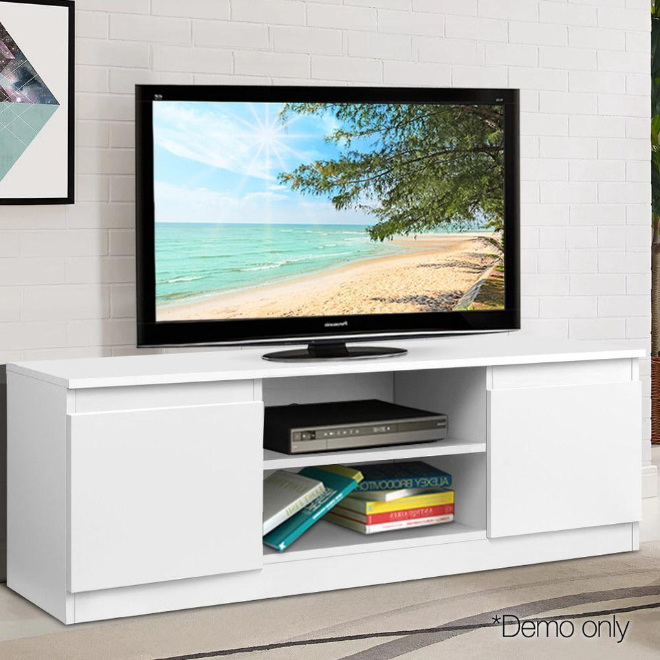 TV Entertainment Unit - White - Factory To Home - Furniture