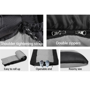 Twin Set Thermal Sleeping Bags - Black - Factory To Home - Outdoor