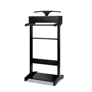 Valet Stand with Storage - Black - Factory To Home - Furniture
