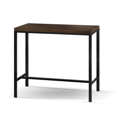 Vintage Industrial High Bar Table - Dark Brown - Factory To Home - Furniture
