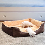 Washable Pet Bed - 3XL Brown - Factory To Home -