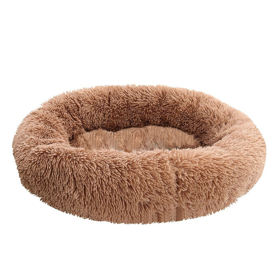 Winter Pet Bed - M Brown - Factory To Home -