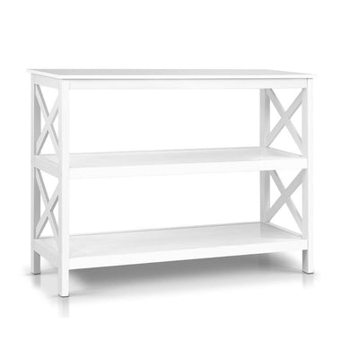 Wooden Storage Console - White - Factory To Home - Furniture