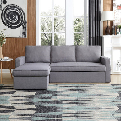 Yarra Corner Sofa Bed Grey - Factory To Home - Furniture
